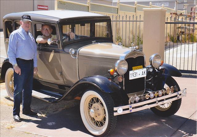 Colin Davidson 1931 Slant Window Town Sedan