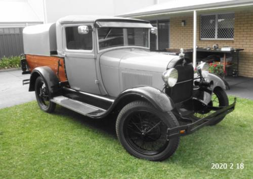 Alan Jeffree 1929 Closed Cab Ute