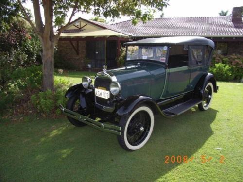 Alex Kirkwood 1928 Phaeton