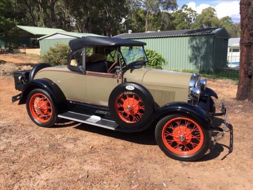 Darrell Stratford 1928 Roadster