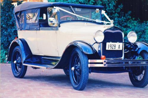 Darren Jeffree 1928 AR Phaeton