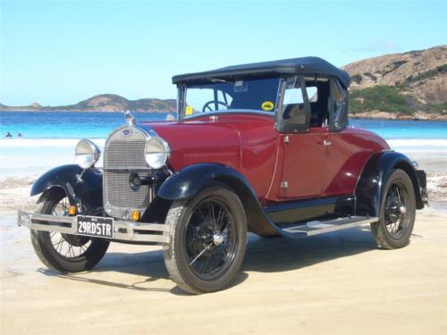Fred Kuenzel 1929 Roadster