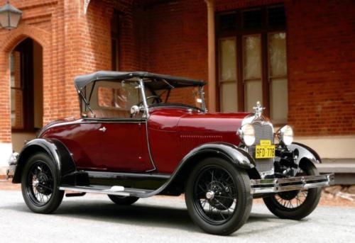 Fred Manwaring 1929 Roadster