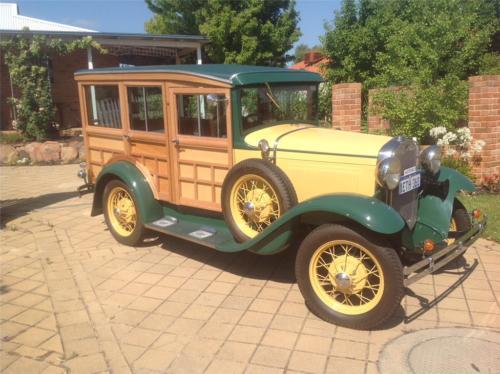 Ian Paisley 1930 Woody Wagon