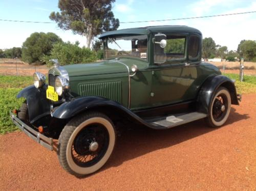 Ken Hall 1931 Special Coupe