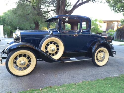 Paul Kelly 1931 Deluxe Coupe