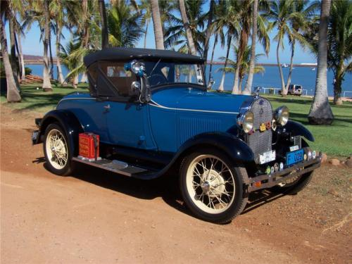 Peter Forbes 1929 Roadster