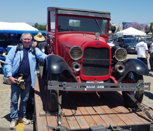 Ray Chester 1929 Pickup