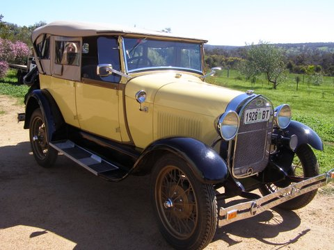 Ray James 1928 Phaeton