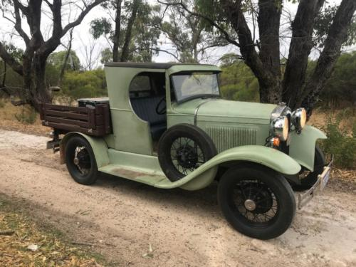 Ray Major 1930 Ute