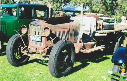Reg Blewett 1928 AA Truck