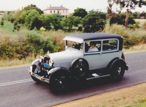 Reg Blewett 1928 Tudor