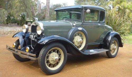 Ross Letch 1930 Deluxe Coupe