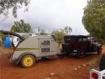 Eardleys car and caravan at Wooleen
